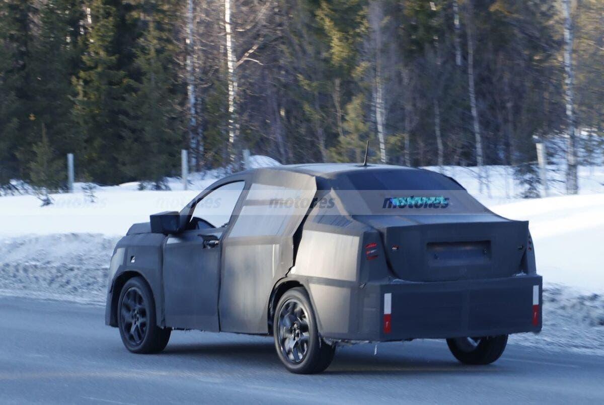 Fiat Fastback Progetto 376 foto spia