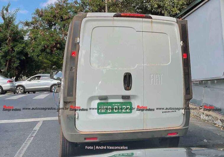 Fiat Fiorino 2022 foto spia