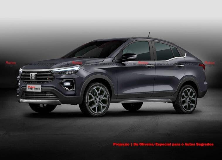 Fiat Progetto 376 render Brasile