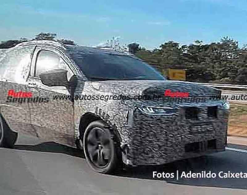 Fiat Pulse nuove foto spia