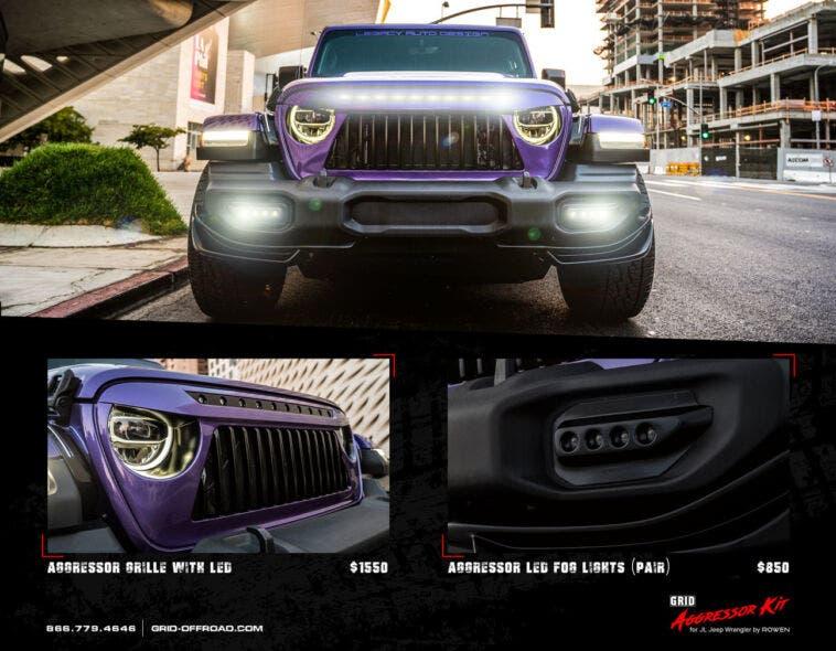 GRID Off-Road annuncia l'introduzione del nuovo GRID Aggressor Kit per Jeep Wrangler JL
