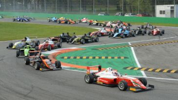 Italian F.4 Championship Powered by Abarth 37 monoposto