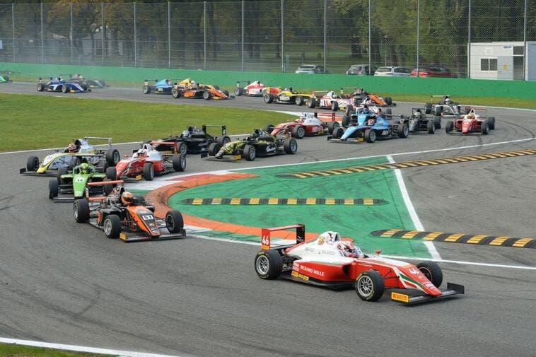 Italian F.4 Championship Powered by Abarth 37 monoposto