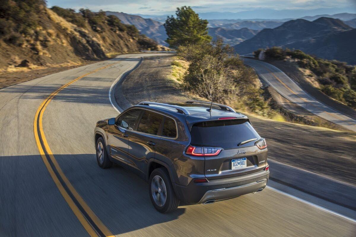 Jeep Cherokee 2021 richiamo