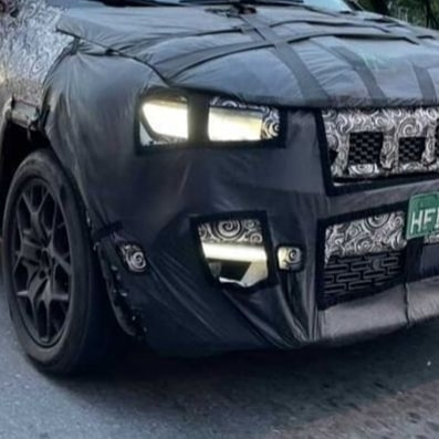 Jeep Commander 2022 ultime foto spia