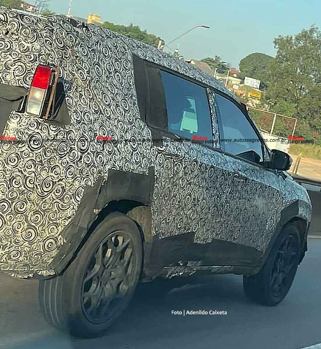 Jeep Commander 2022 ultime foto spia Brasile
