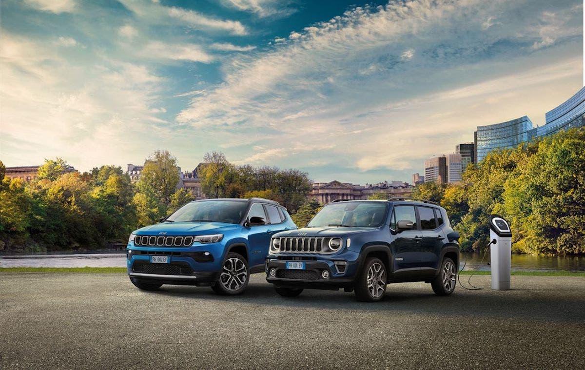 Jeep Compass e Renegade 4xe ibride plug-in