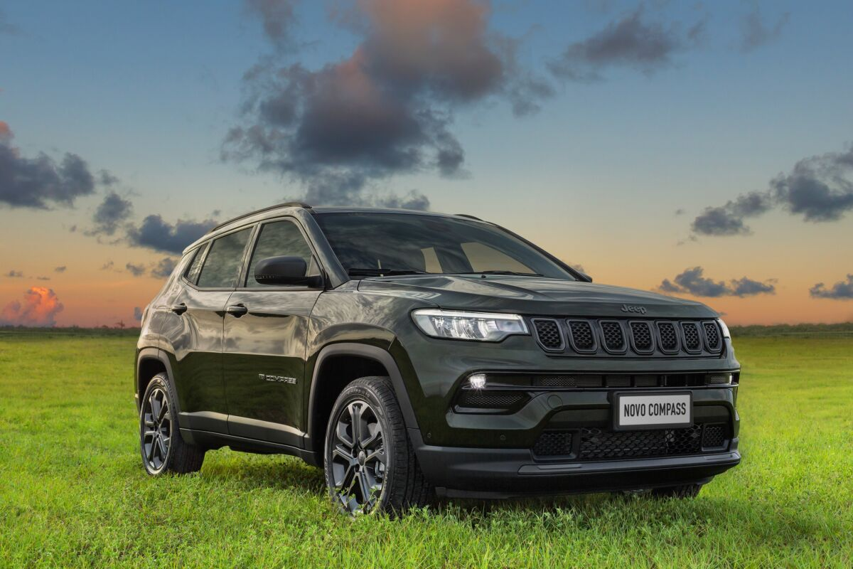 Jeep Compass vendite Brasile