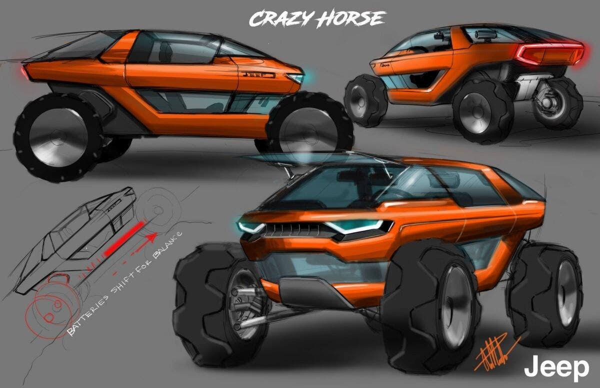 Jeep Crazy Horse