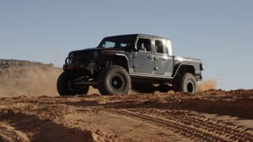 Jeep Gladiator Hellcat Tactical Off-Road