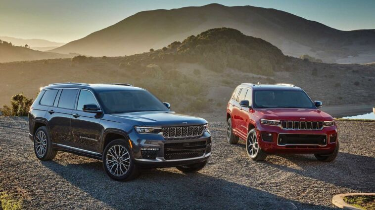 Jeep Grand Cherokee L top di gamma