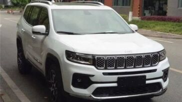 Jeep Grand Commander nuovo restyling prototipo