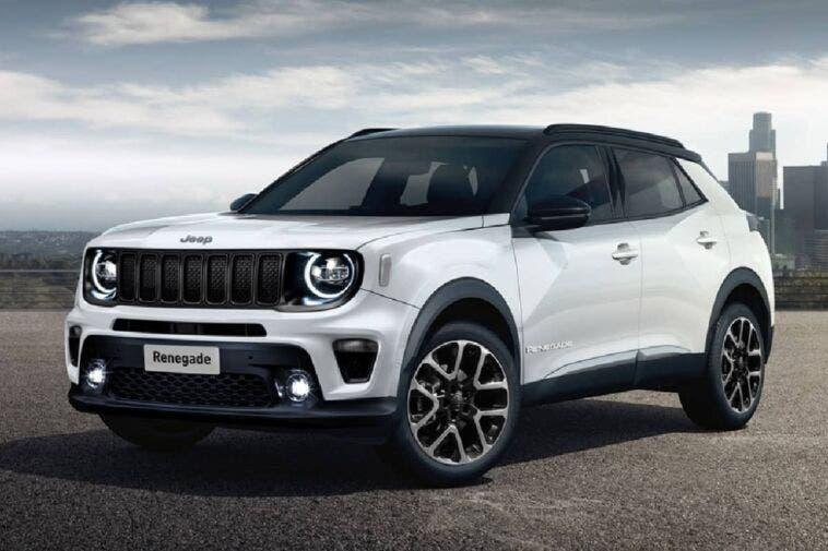 Jeep Renegade 2023 render