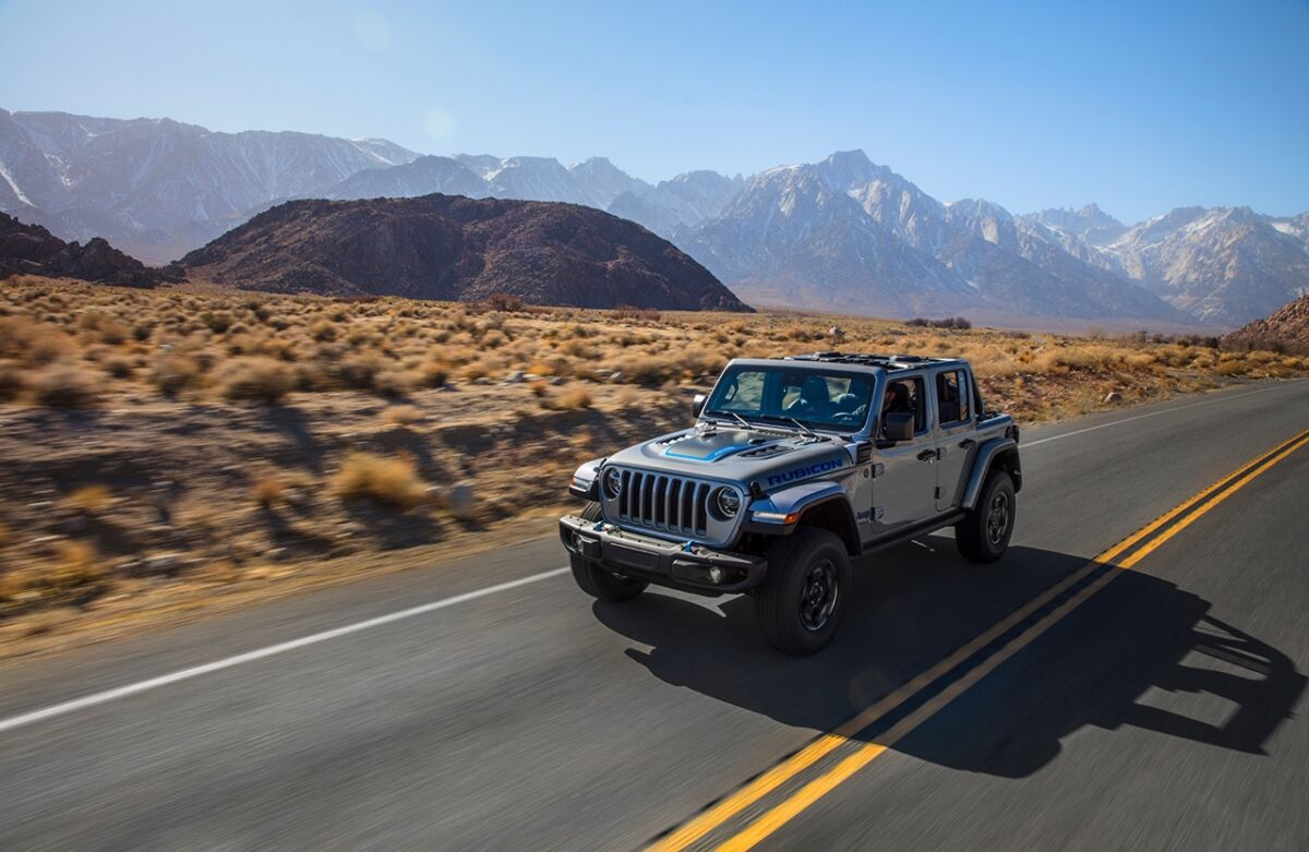 Jeep Wrangler 4xe presentazione Europa