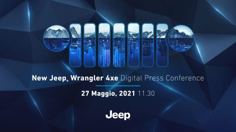 Jeep Wrangler 4xe teaser anteprima europea