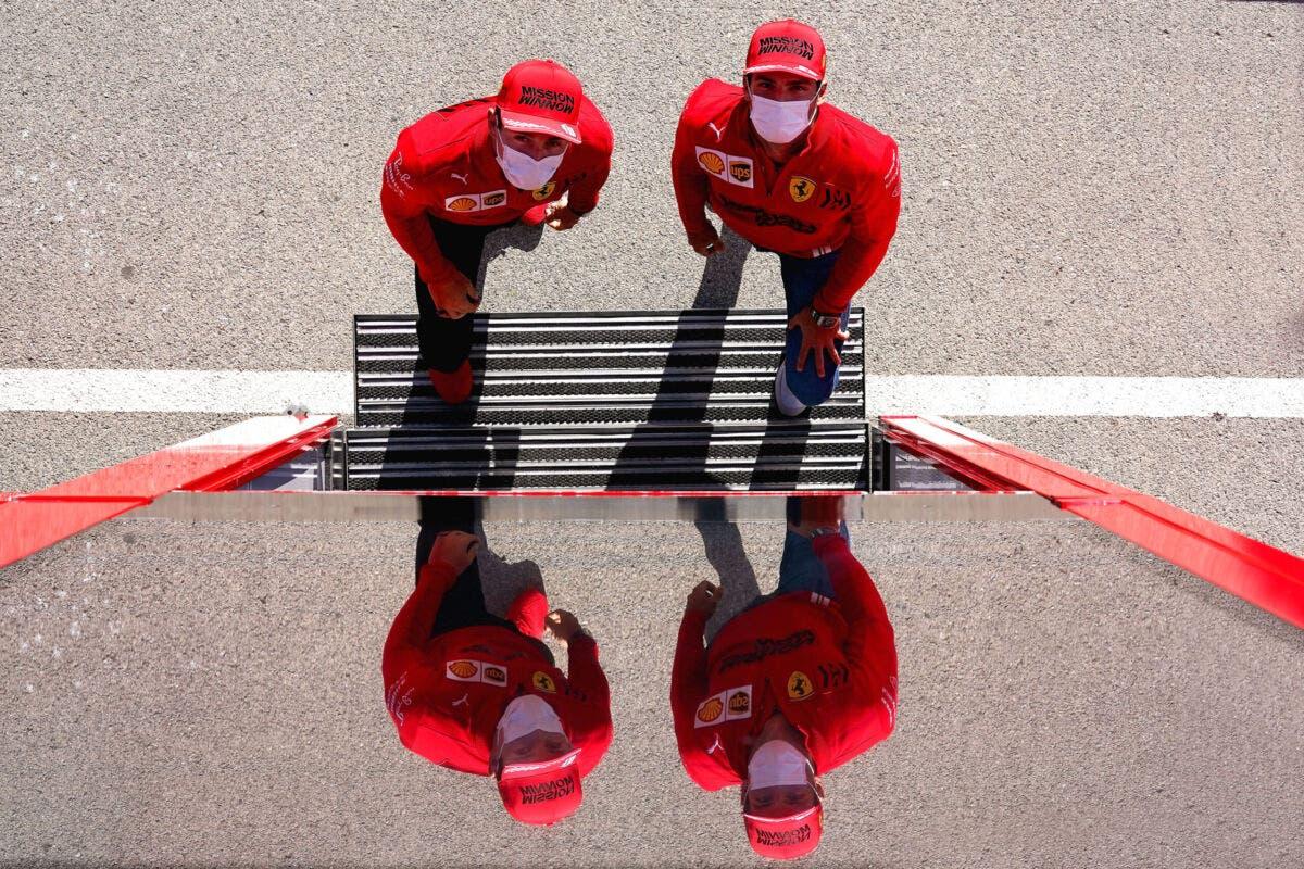 Carlos Sainz Charles Leclerc