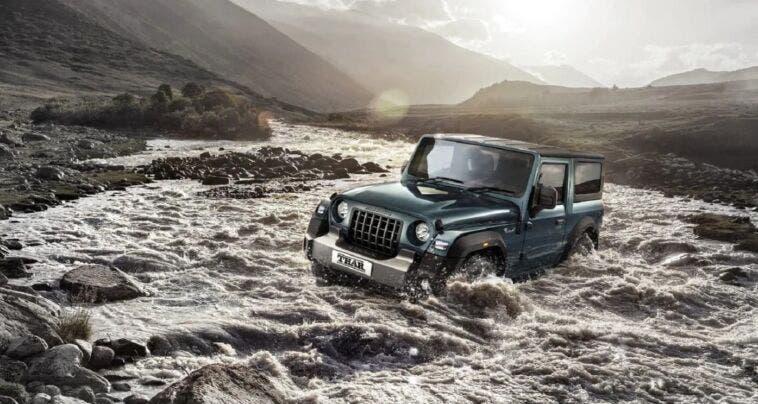 Mahindra Thar il sosia di Jeep Wrangler