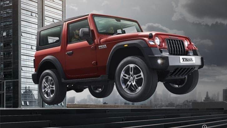 Mahindra Thor clone Jeep Wrangler Australia