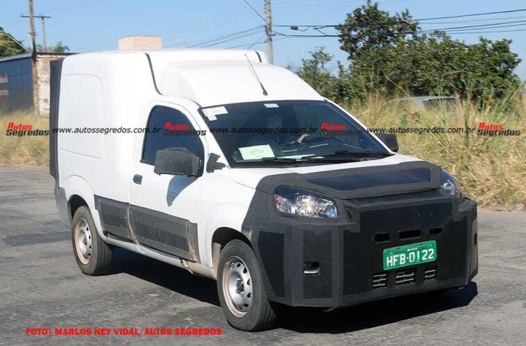 Nuovo Fiat Fiorino ultime foto spia