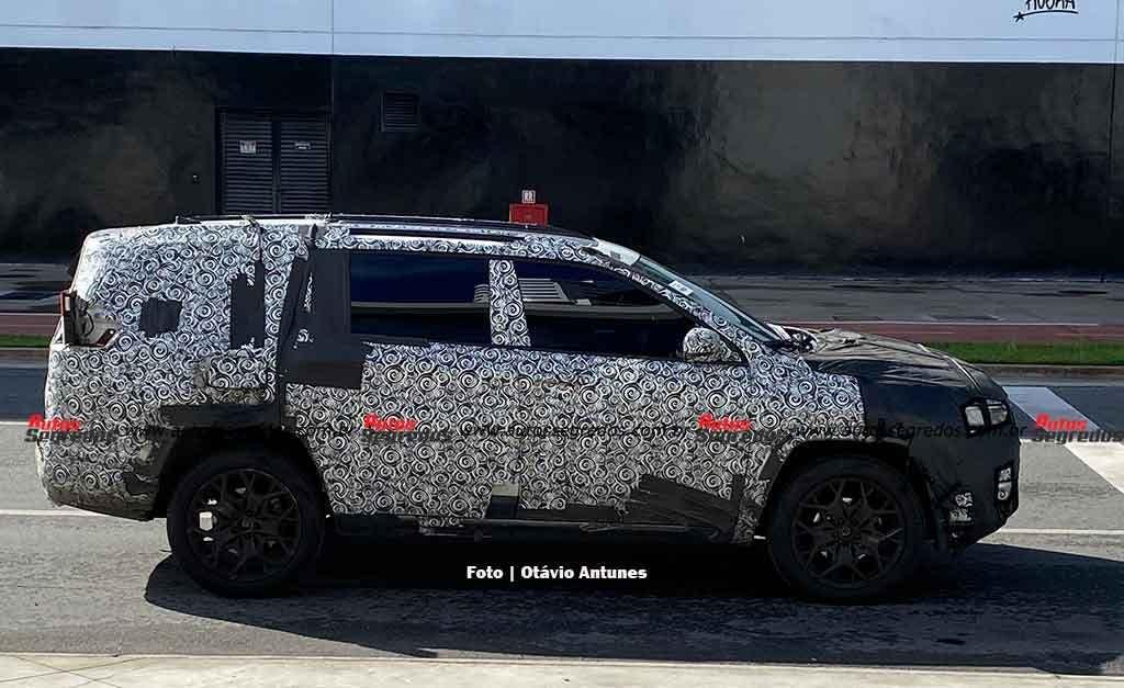 Nuovo Jeep Commander prototipi San Paolo