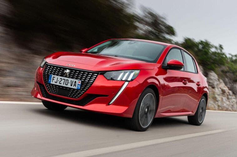 Peugeot 208 auto più venduta Europa aprile 2021