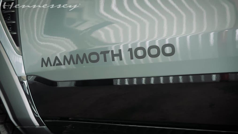 Ram 1500 TRX Hennessey banco prova