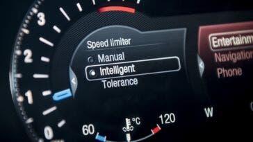 Regno Unito limitatore velocità nuove auto