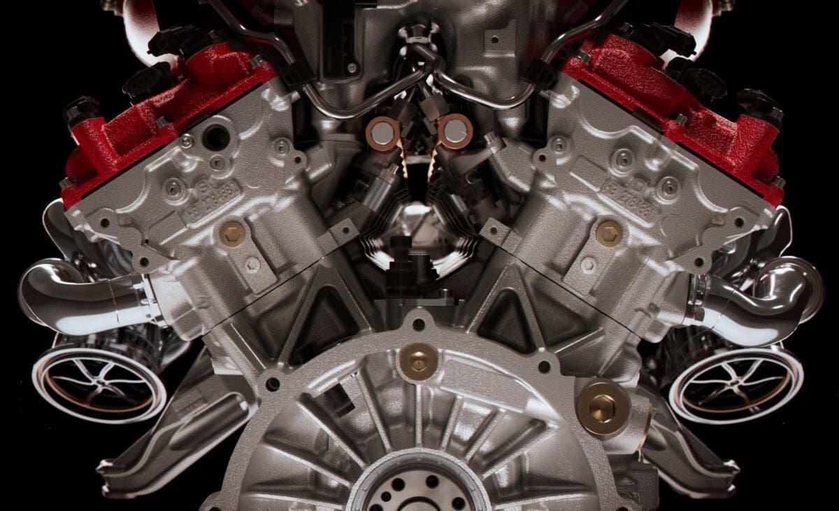 V12 Ferrari