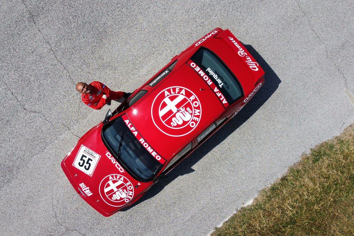 Tarquini Alfa Romeo 155 TS BTCC