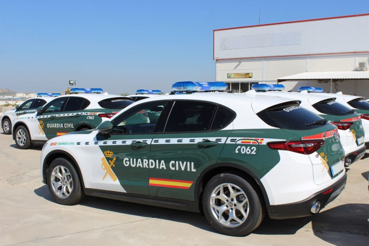 Alfa Romeo Stelvio Guardia Civil