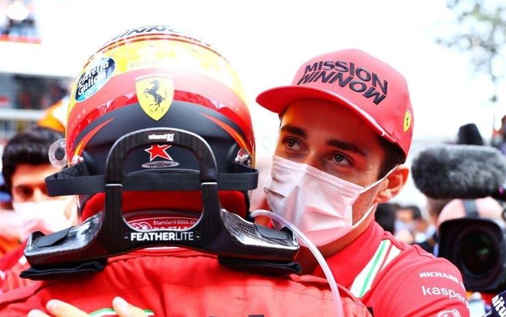 Carlos Sainz e Charles Leclerc