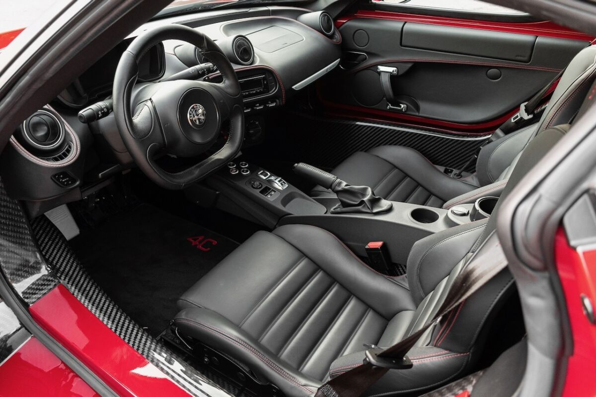 Alfa Romeo 4C deluso giornalista britannico