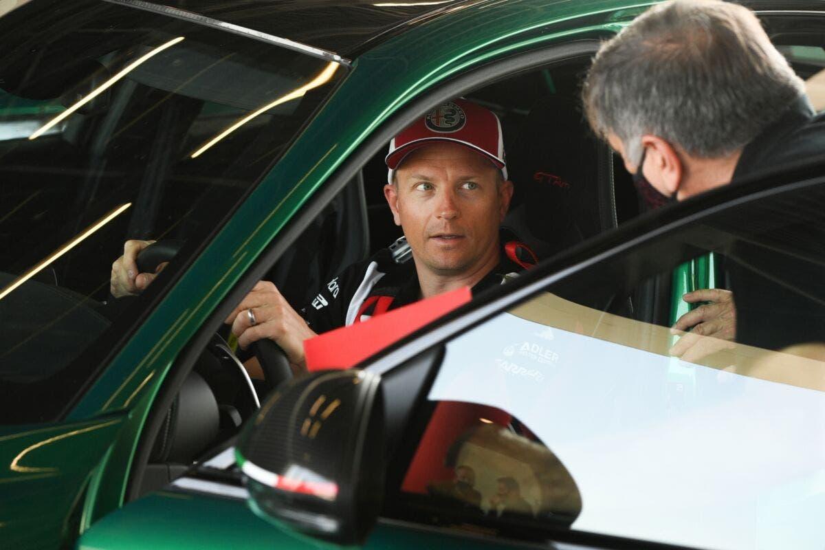 Alfa Romeo Giulia GTA Kimi Raikkonen