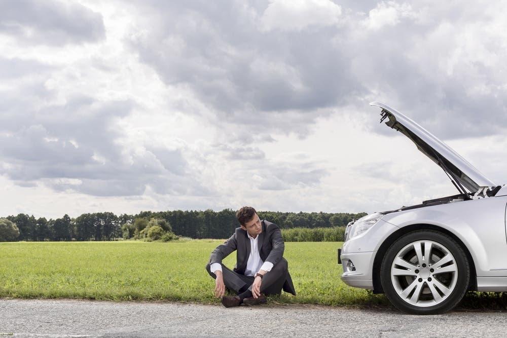 Auto in panne incidenti Stati Uniti