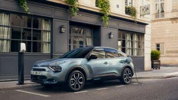 Citroën e-C4 neopatentati