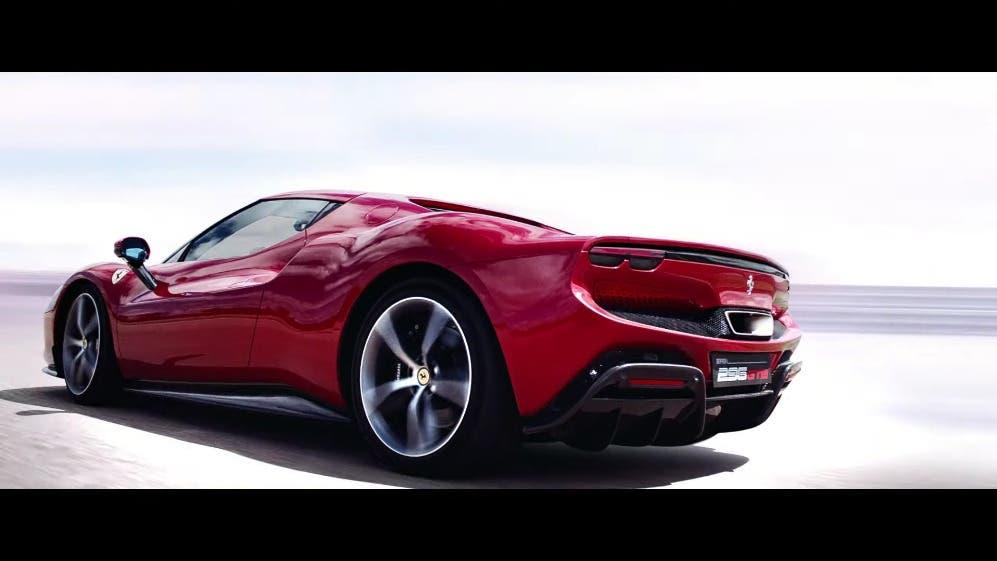Ferrari 296 GTB sound