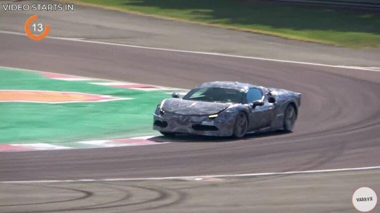 Ferrari 296 GTB test Fiorano