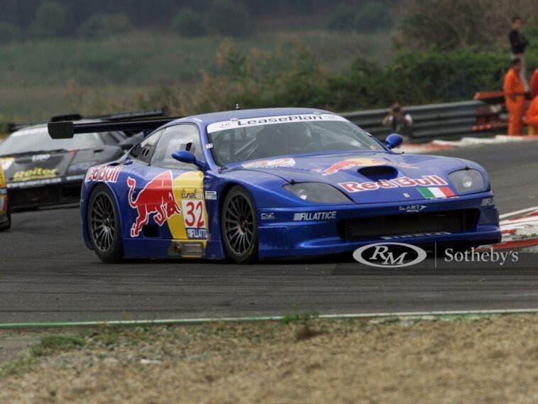 Ferrari 550 GT1 2000 asta