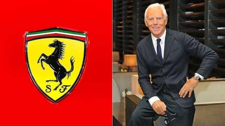 Ferrari Armani no alleanza