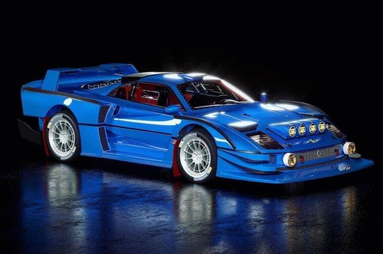 Ferrari F40 rally Gruppo B render