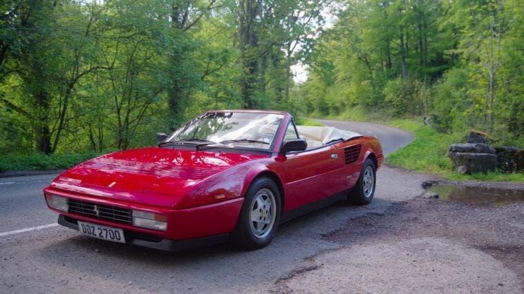 Ferrari Mondial 3.2 Cabriolet Chris Harris
