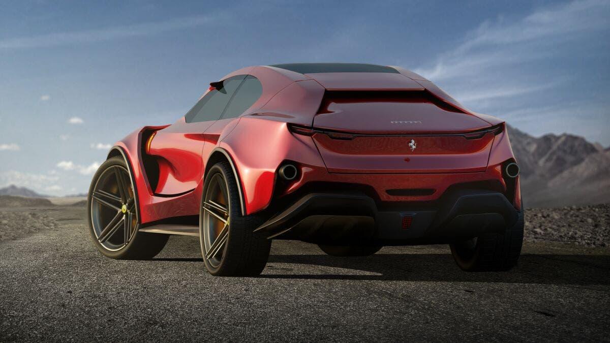 Ferrari Simoom render