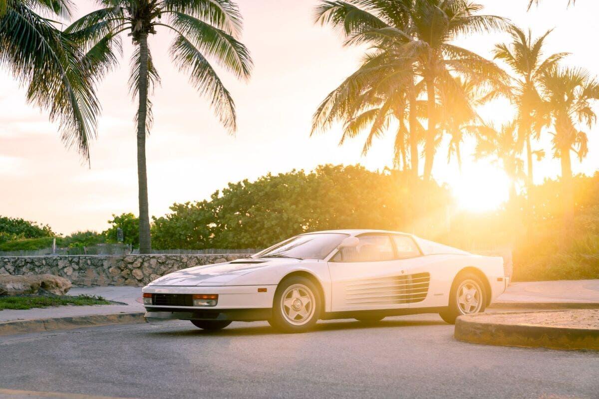 Ferrari Testarossa Miami Vice