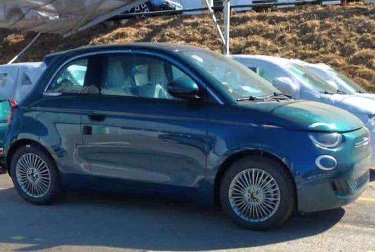 Fiat 500 Elettrica Brasile foto