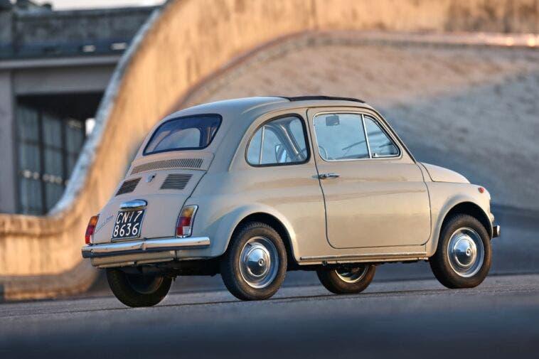 Fiat 500 storica evento