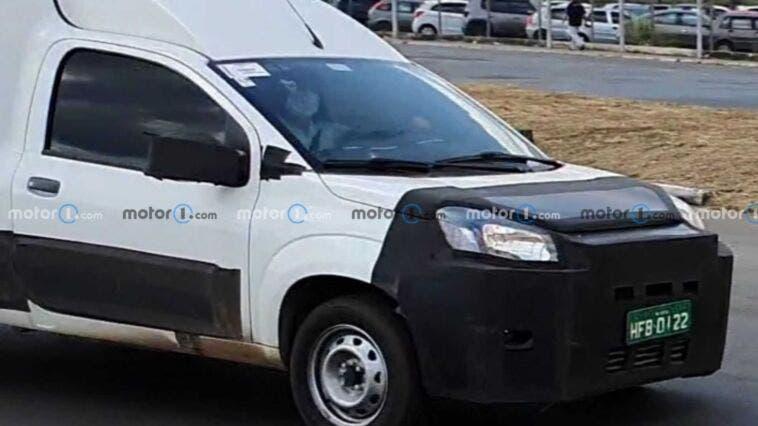 Fiat Fiorino 2022 nuovo prototipo foto spia