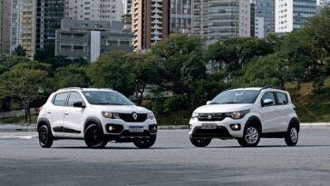Fiat Mobi Renault Kwid