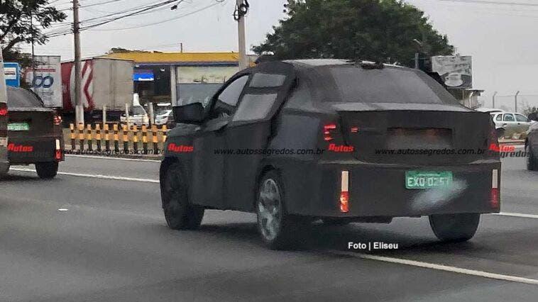 Fiat Progetto 376 coupé foto spia