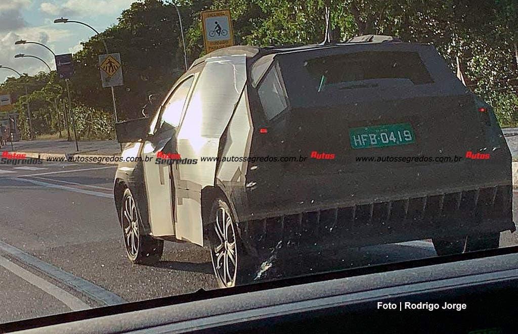 Fiat Pulse altro prototipo foto spia Brasile