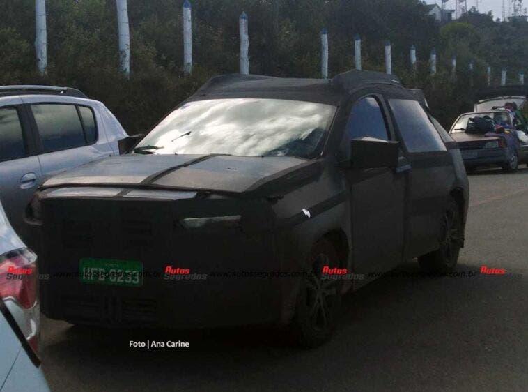 Fiat Pulse foto spia due prototipi